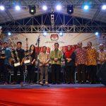 Gubernur Kaltara Hadiri 'Konser Musik Pemilu Berdaulat, Negara Kuat'.