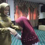 Hj Asmin Laura Lepas Kafilah Nunukan ke MTQ Tingkat Provinsi