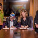 PT SMI dan Bloomberg Philanthropies Tanda Tangani MoU untuk Kembangkan SDGs