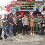 Pemilu 2019, Kapolda Kaltara dan Bupati Nunukan Tinjau Pos Gabungan TNI-Polri