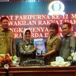 DPRD Bontang Sampaikan Enam Raperda Inisiatif