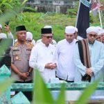"Bersama Forkompinda, Walikota Ziarah Akbar ""Ulama Wal Auliya"" di Samarinda"