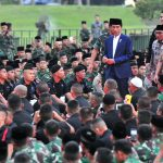 Presiden: Rakyat Senang Lihat TNI dan Polri Solid dan Sangat Bersatu