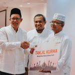 Berbagi Kebahagiaan Ramadan, Telkomsel Serahkan 24 Ton Kurma Bagi 20 Masjid