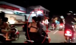 Kelakuan Dua Remaja di Berau Sahur On The Road Sambil Bugil