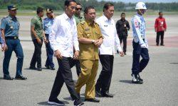 Kunjungi Kaltim, Presiden Jokowi Tinjau Lokasi Alternatif Pemindahan Ibu Kota RI