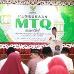 Pemprov Kaltara Apresiasi MTQ Mualaf Pertama Tingkat Provinsi