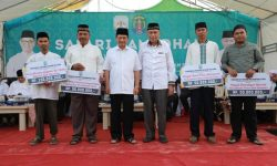 Gubernur Kaltara dan Wakilnya Buka Puasa Bersama Masyarakat Sebatik