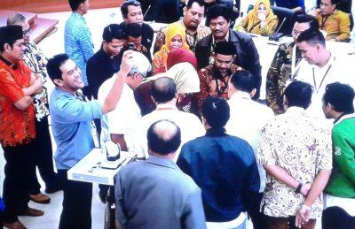 KPU RI Sahkan Hasil Pemilu Serentak 2019 di Kalimantan Timur