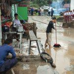 Banjir Dadakan Hanyutkan Rumput Laut dan Perahu WargaNunukan