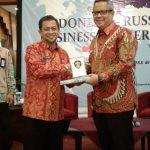 Wagub Buka Business Gathering Indonesia-Rusia
