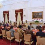 Minta Masukan Pengusaha, Presiden Jokowi: Kalau Diperlukan Perppu, Kita Buatkan