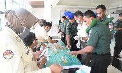Prajurit Korem 091/ASN Tegaskan Lagi Komitmen Perangi Narkoba