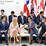 Saat Presiden Jokowi Berbincang Dengan Ivanka Trump