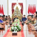 Presiden Jokowi Ajak Pengusaha Manfaatkan Peluang dari Perang Dagang
