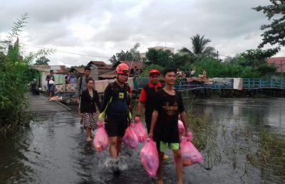 Air Surut, Tinggal 7.201 Jiwa Terdampak Banjir di Samarinda