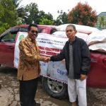 Pemprov Salurkan 11 Ton Cadangan Beras Kaltim ke Daerah Darurat Bencana