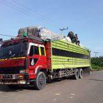 Yonif Raider 600/Modang Amankan Truk Bermuatan 16 Ton Barang Malaysia