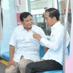 Bertemu di MRT, Jokowi dan Prabowo Sepakat Tidak Ada Lagi Cebong, Kampret