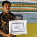 PPI Tanjung Limau Terima Penghargaan Operasionalisasi Terbaik se-Indonesia Tahun 2018