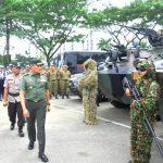 TNI dan Polri Bersiap Amankan Kunjungan Mufidah Jusuf Kalla ke Samarinda
