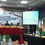 KPU Tetapkan Caleg Terpilih DPRD Kutim Hasil Pemilu 17 April 2019