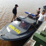 Polisi Tangkap Pemalak Solar di Atas Tugboat di Sungai Mahakam