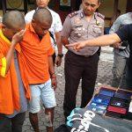 Modus Pemulung, Haidir Gasak 21 HP di Toko Ponsel di Samarinda