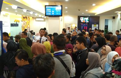 Dana Mendadak Raib, Ratusan Nasabah Mandiri Komplain