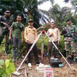 Yonif Raider 600/Modang Kawal Pengecekan Ulang Titik Batas Indonesia-Malaysia