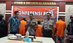 Kapolres Nunukan Prihatin Remaja Terlibat Kurir Narkotika