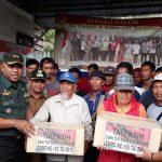 Tim Wasev Mabes TNI-AD Kunjungi Lokasi TMMD Ke -105 Pulau Sebatik