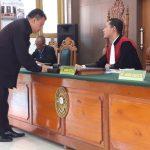 Praperadilan, Termohon Balai PPHLHK Kalimantan Tidak Hadir
