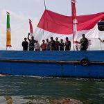 Cinta Tanah Air, 30 Kapal se-Nunukan Meriahkan Pawai Bendera