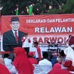 Pilwali Samarinda 2020, Relawan Sarwono Deklarasikan Dukungan