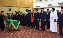 25 Anggota DPRD Nunukan Dilantik, Hj Leppa dan Irwan Jadi Pimpinan Sementara