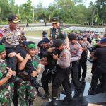 Mantapkan Sinergitas, Polri – TNI Gelar Apel Bersama