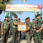 Danrem 091/ASN Kunjungi Prajurit di Perbatasan RI-Malaysia