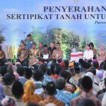 Presiden Jokowi: Masih 80 Juta Bidang Tanah Masyarakat Belum Bersertifat