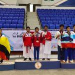 Atlet Junior Taekwondo Nunukan Sabet 8 Medali di Brunai Darussalam