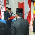 Gubernur Ambil Sumpah dan Lantik Pejabat Baru