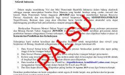 Surat Palsu Permintaan Data Siswa dari Kemendikbud Beredar di Nunukan
