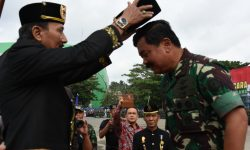 Ini Makna Gelar Pangeran Wira Ambara Pemberian Sultan Kutai Kepada Panglima TNI