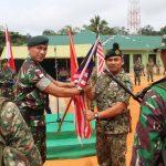 Patroli Bersama Menjadi Ajang Silaturahmi Prajurit RI dan Malaysia