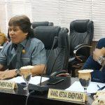 Rapat Paripurna DPRD Bontang Sahkan Lima Fraksi