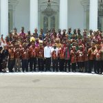 Bertemu Presiden Jokowi, Tokoh Papua dan Papua Barat Sampaikan 10 Permintaan