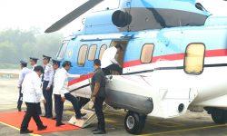 Kunjungi Lokasi Karhutla di Riau, Presiden: Kalau Sudah Kejadian Sulit Memadamkannya