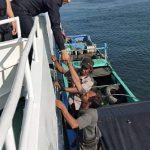 Mesin Kapalnya Rusak, Nelayan Indonesia Diselamatkan Polisi Merin Malaysia