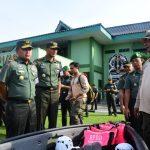 Pangdam VI Mulawarman Tegaskan Prajurit Mesti Sigap Hadapi Bencana