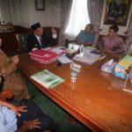 DPK KMB dan IKMS Kutim Sowan Bareng ke Bupati Ismunandar